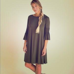 Agnes & Dora Olive Green Walker Dress XL